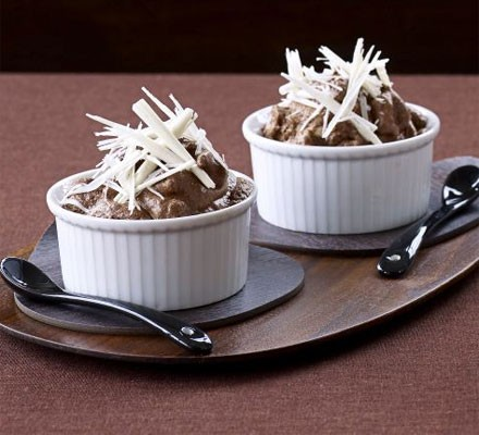 Double chocolate cardamom pots