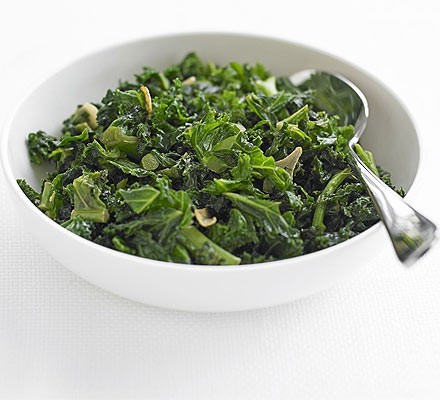 Chinese-style kale