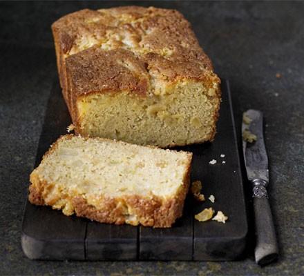 Pear & ginger loaf cake