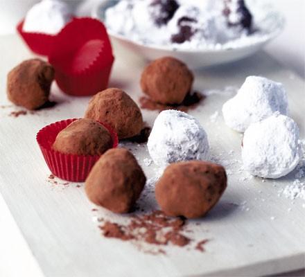 Chocolate Tia Maria nuggets