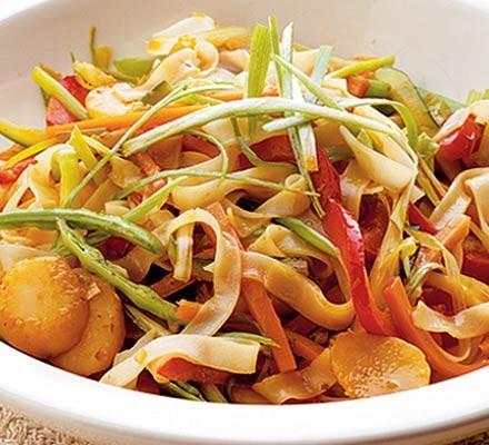 Zesty veggie noodles