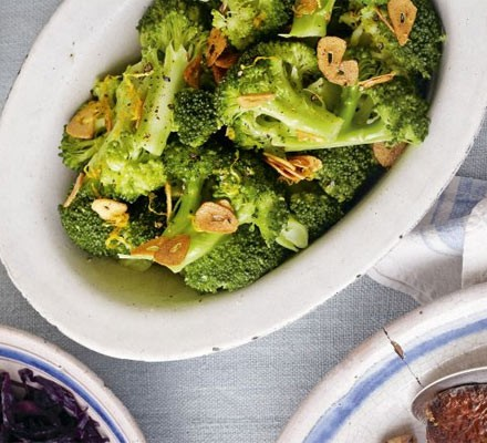 Broccoli With Garlic Lemon Recipe Bbc Good Food