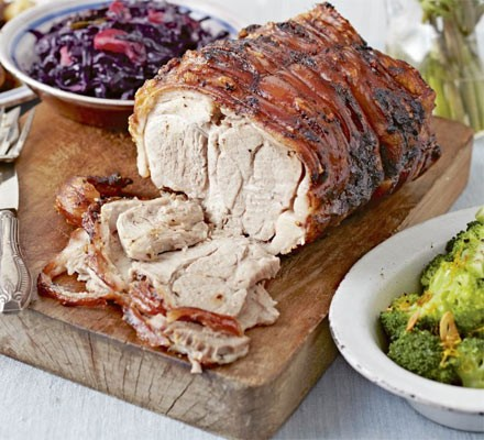 Spiced slow-roast pork