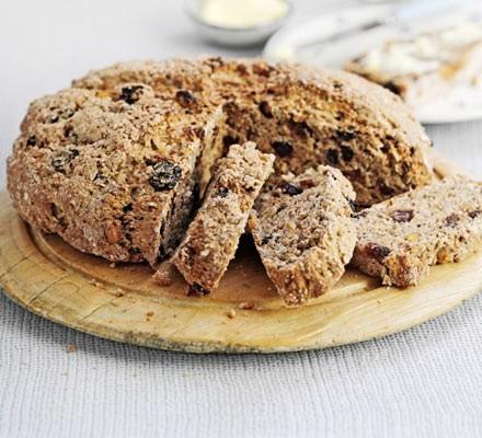 Fruit & spice soda bread