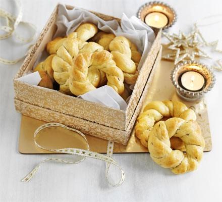 Hanukkah biscuits