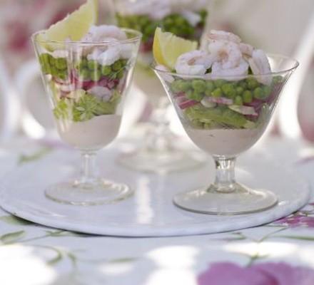 Mini prawn cocktails
