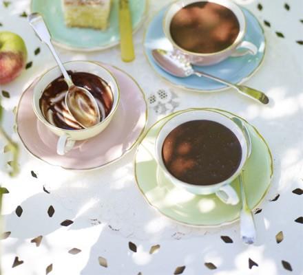 Chocolate tea-pots