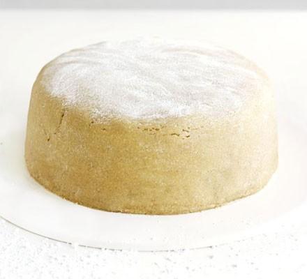 Easy vanilla marzipan