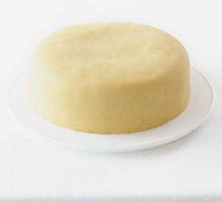 Zesty orange marzipan