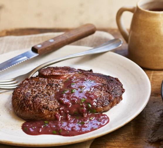 Red Wine Sauce Recipe Bbc Good Food