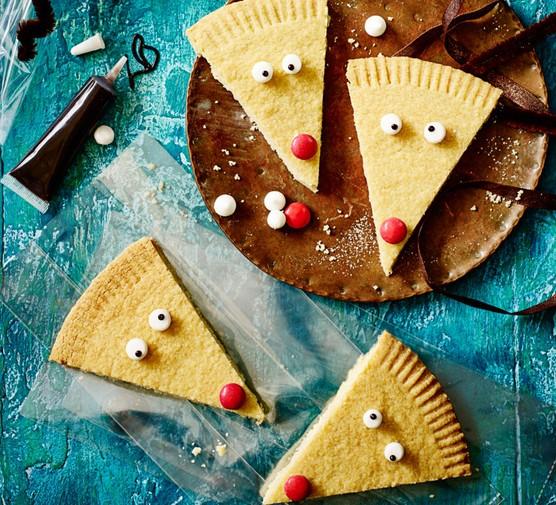 reindeer shortbread biscuits