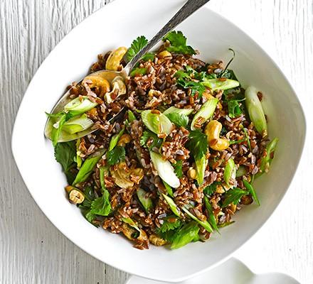 Zingy rice salad