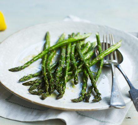 Roasted asparagus image