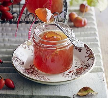 Rosehip & crab apple jelly