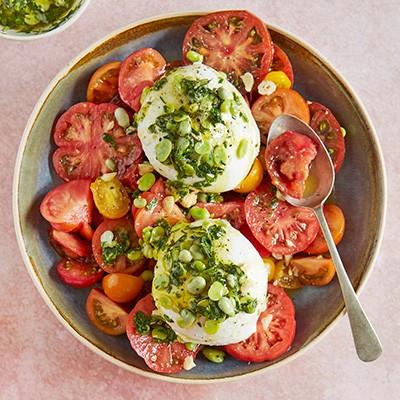 Tomato salad recipes image