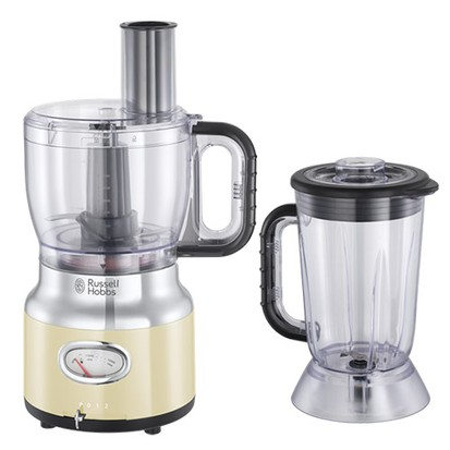 Russell Hobbs Retro food processor review on a white background