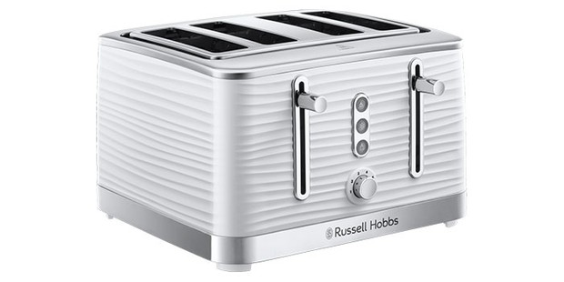 Russell Hobbs 24381 Inspire 4 Slice Toaster on a white background
