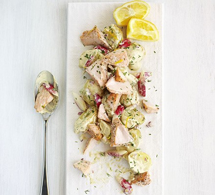 Scandi salmon salad