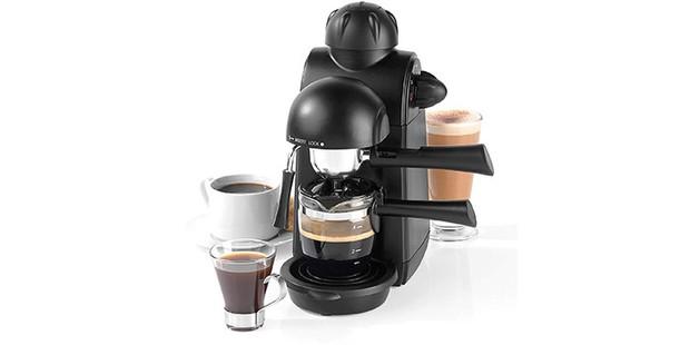 Salter espresso machine on a white background