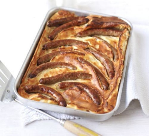 Toad-in-the-hole traybake
