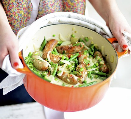 Sausage & veg one-pot