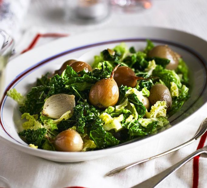 Savoy Cabbage With Shallots Fennel Seeds Recipe Bbc Good Food