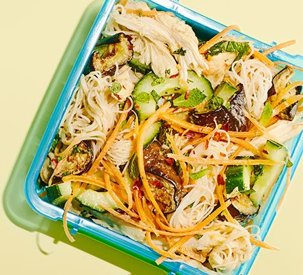 Sesame Chicken Noodles Recipe Bbc Good Food