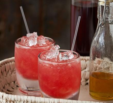Sloe gin cocktail 2016