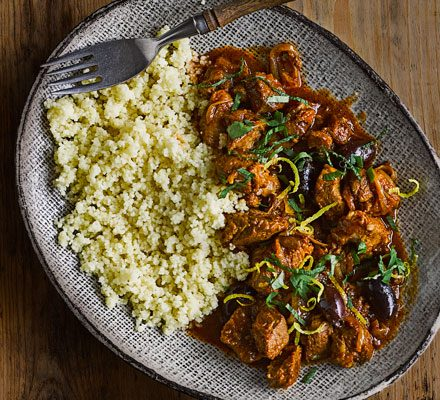 Slow cooker Moroccan lamb stew image