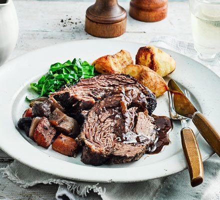 Slow-cooker beef pot roast image
