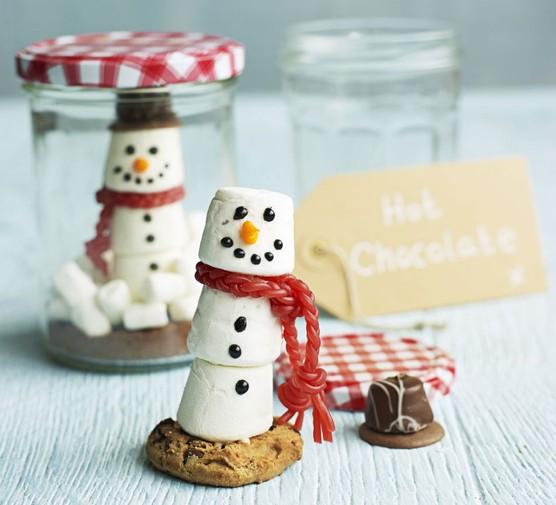 Snow globe hot chocolate