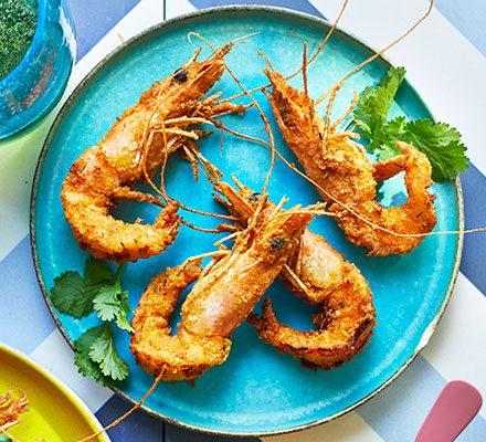 Southern-fried prawns_image