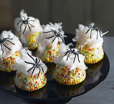 Spider nest cakes