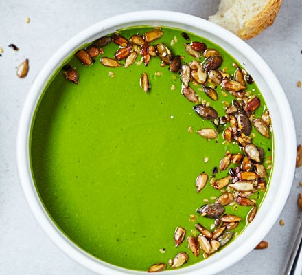 Spinach & watercress soup