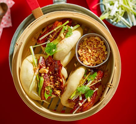 Sticky Pork Belly Bao Buns Recipe Bbc Good Food