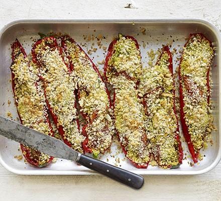 Italian stuffed sweet peppers
