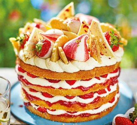 Summer party cake 2016