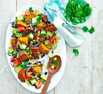 Sweet potato Tex-Mex salad