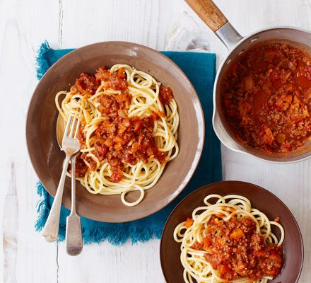Ricette Spaghetti Bolognese.The Best Spaghetti Bolognese Recipe Bbc Good Food