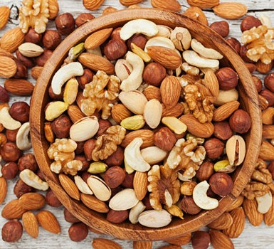 The health benefits of nuts - BBC Good Food