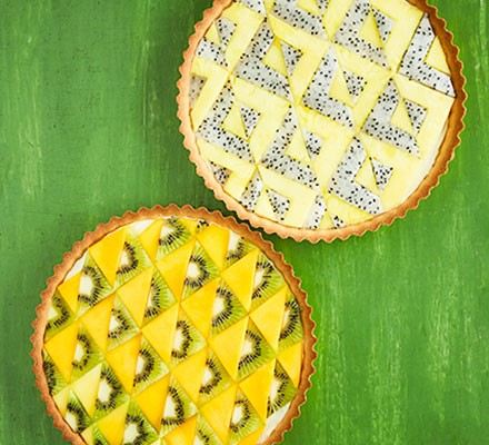 Two tropical tarts