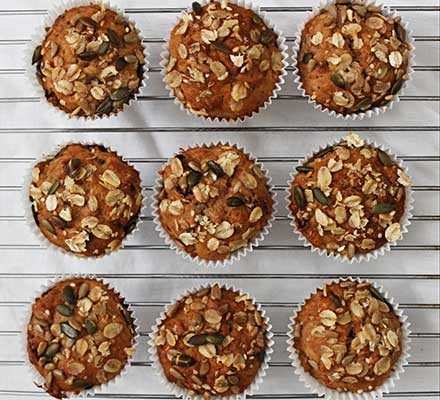 9 vegan banana cupcakes