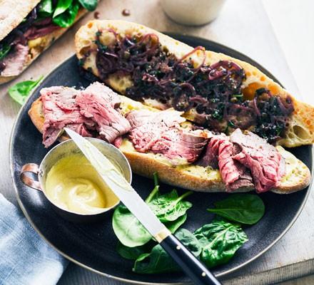 Victorian diable sandwich