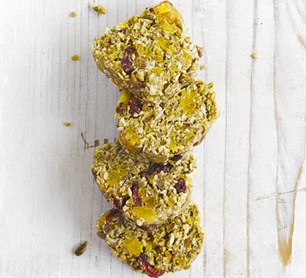 Apricot & seed protein bar