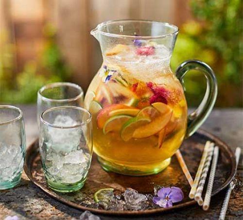 White wine sangria pitcher