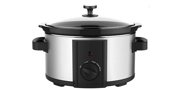 Wilko slow cooker on a white background