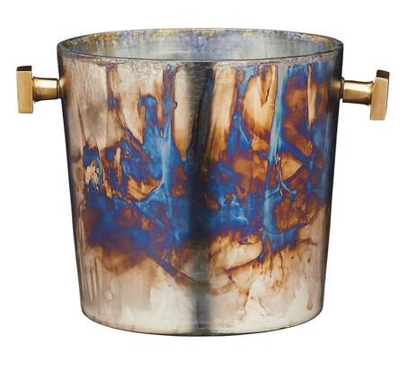 Barcraft Zinc Fired Glass Champagne Bucket, best wine gifts