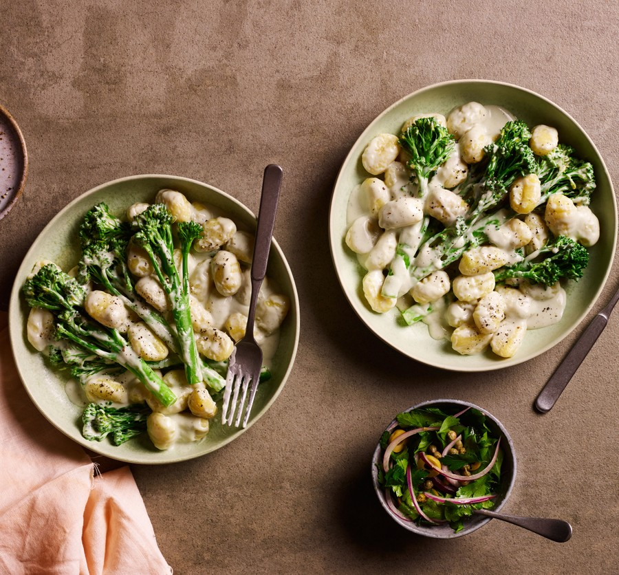 Gnocchi with blue cheese and Tenderstem® broccoli