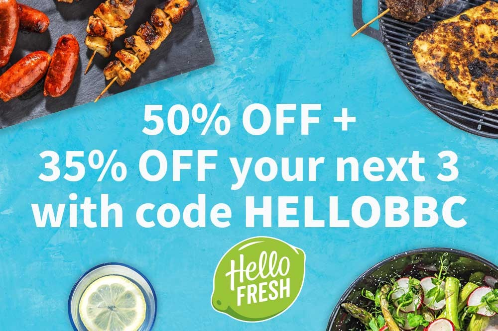 Hello Fresh promo logo
