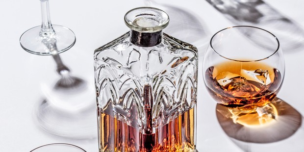 whisky in a decanter